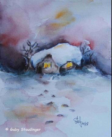 Haus im Schnee450